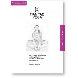 Tian Tao Yoga Aufbau 1 Seminar Handout PDF