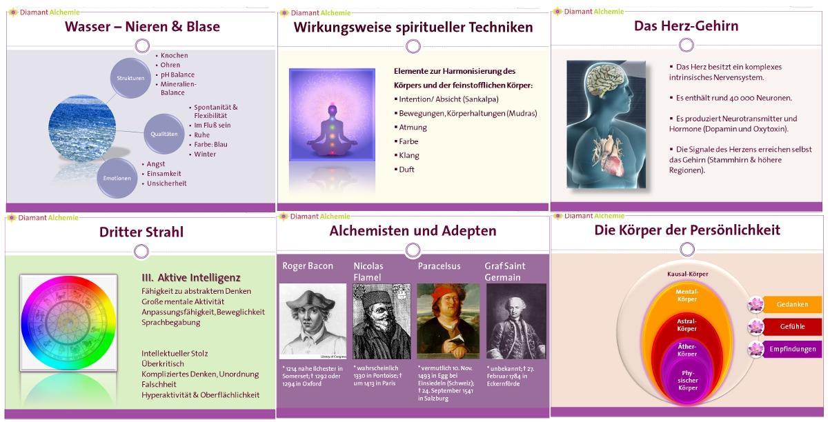 Diamant-Alchemie Seminar « Julia Kant – Beratung und Energiearbeit